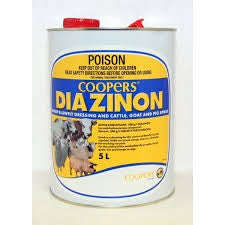 Coopers Diazinon  Sheep Blowfly Dressing 5 Litres