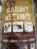 Rabbit Netting 300mm x 40mm x 1.4 x50mt