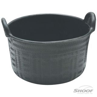 Feed Tub Recycled Rubber 34L 2-handle