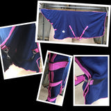 TasAnimal - Fleece Combo Navy/Pink With Leg Straps