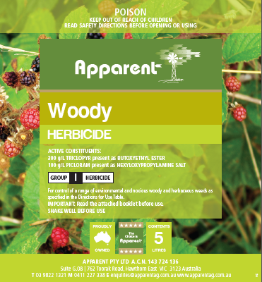 Apparent Woody 5lt