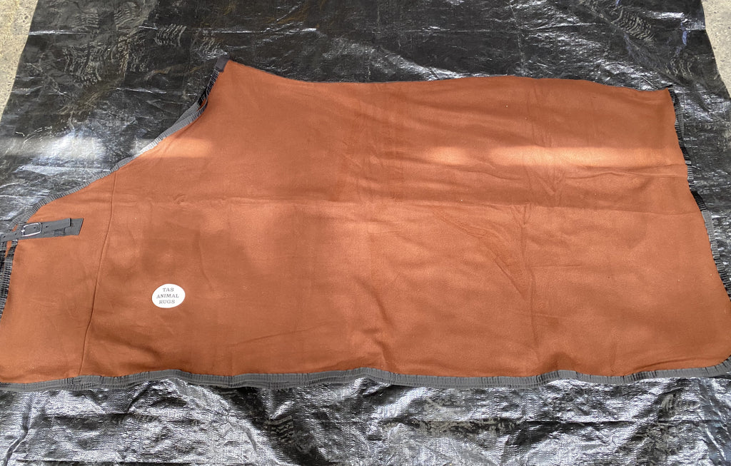 Fleece Rug - Brown