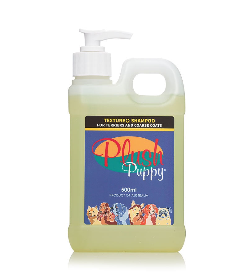 Plush Puppy Texture + Shampoo 500ml