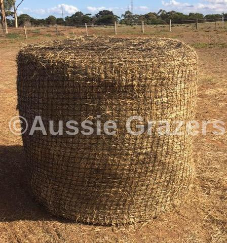 5x4 Round Bale Slow Feeding Hay Net 60mm x 60mm 60 Ply