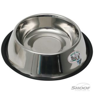 Pet Bowl Stainless Non-tip 17cm/900ml