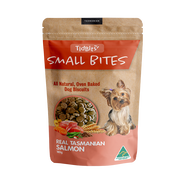 Tidbits Naturals Small Bites Salmon Dog Biscuits 180g