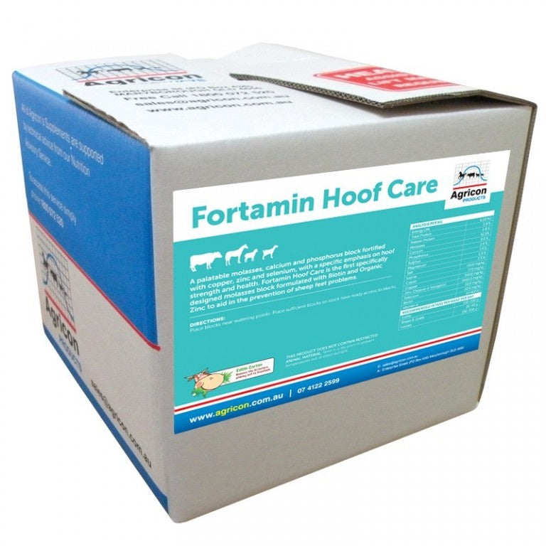 Agricon Fortamin HOOF CARE Block 20kg