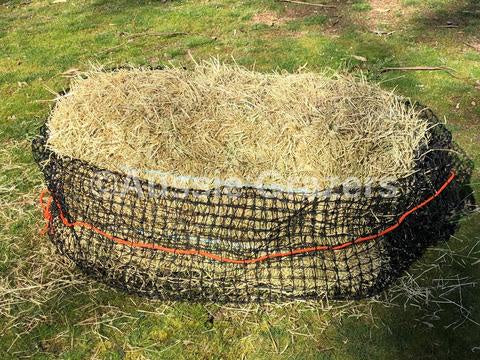 Large Slow Feeding Hay Net 30mm x 30mm 48 ply (Wide Top)