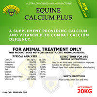 Olsson's Calcium Plus Block 20kg