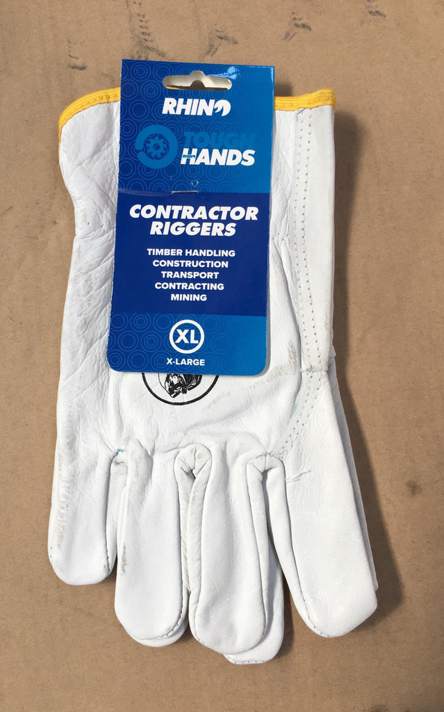 Tough Hands Gloves - Contractor Riggers - XLarge