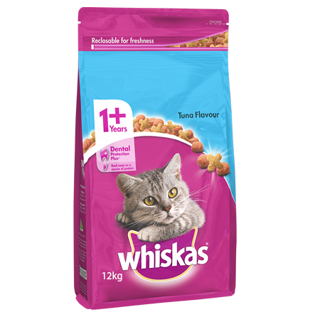 Whiskas Adult with Tuna 12kg