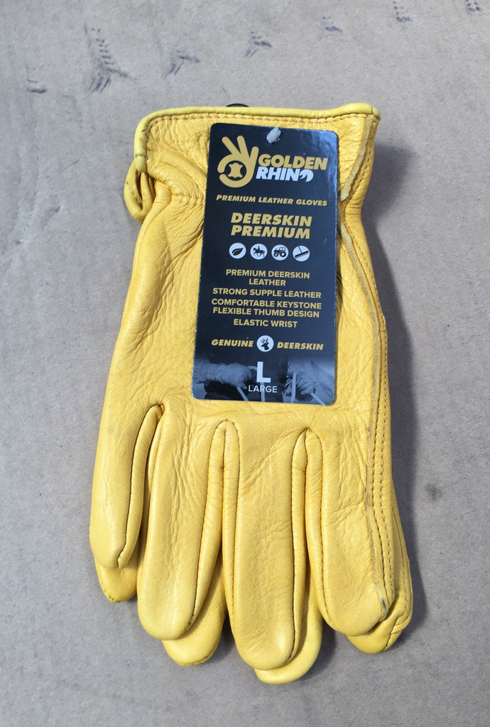 Deerskin Premium Gloves - Large
