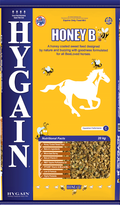 10 Bags - Hygain Honey B