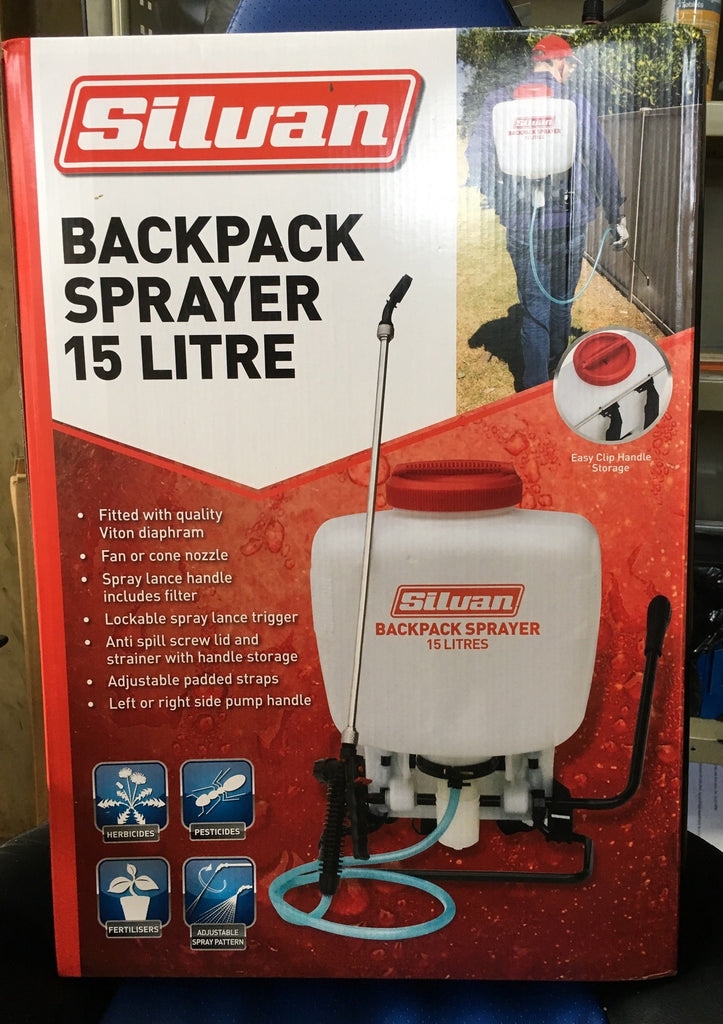Silvan 15lt Backpack Sprayer KN15D-1