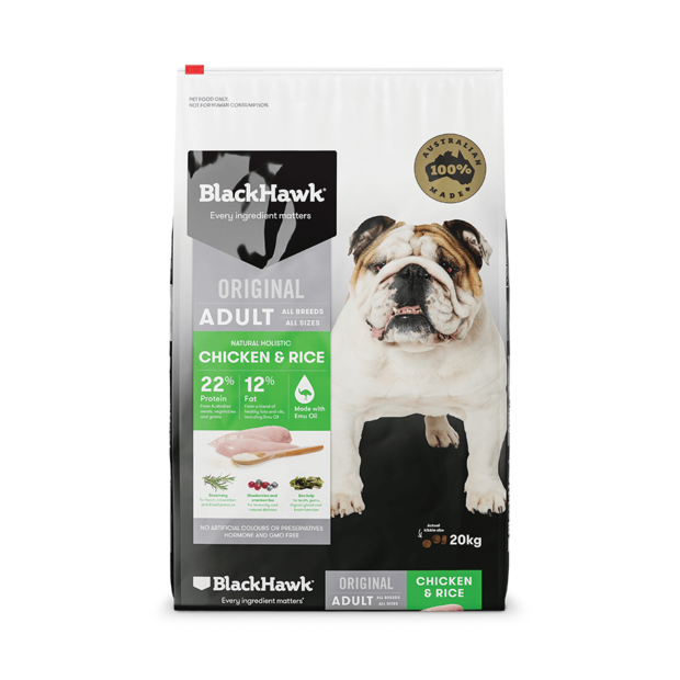 BlackHawk Dog Adult Chicken/Rice 20kg
