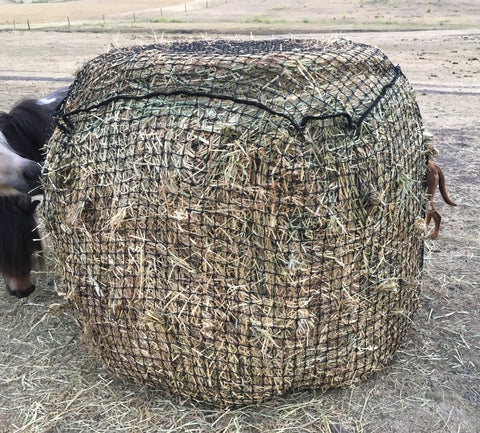 4x4 Round Bale Slow Feeding Hay Net 40mm x 40mm 60 ply