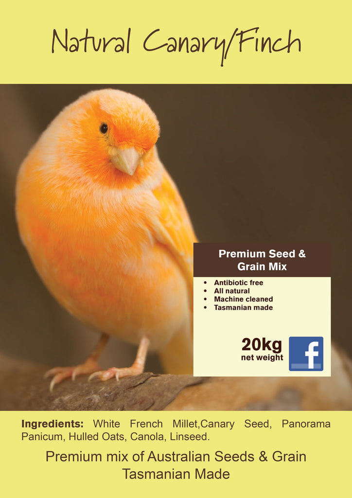 Seedhouse Natural Canary/Finch 20kg