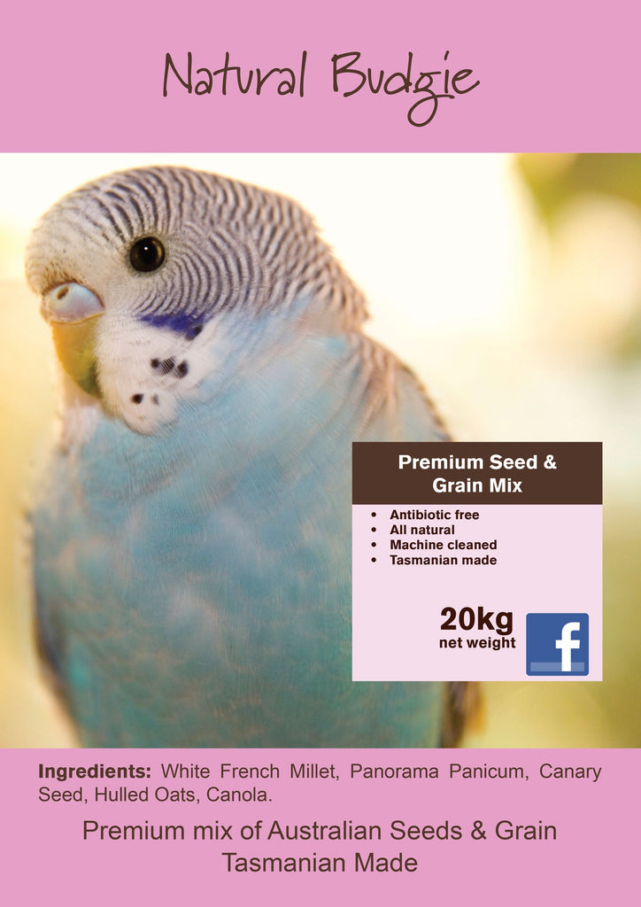 Seedhouse Natural Budgie 20kg