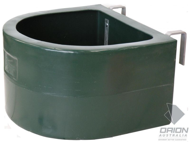 Orion 32 Litres 'D' Type Fence Feeder Heritage Green (Cottage Green)