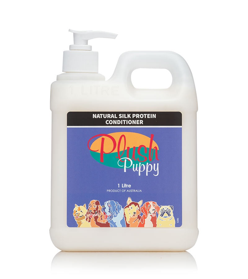Plush Puppy Natural Silk Protein Conditioner 500ml