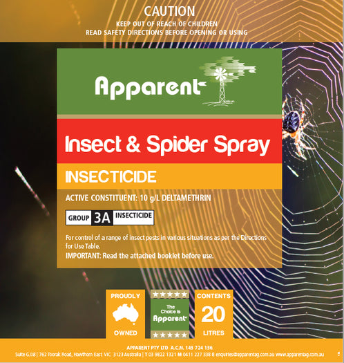 Apparent Insect & Spider Spray 1 Litre
