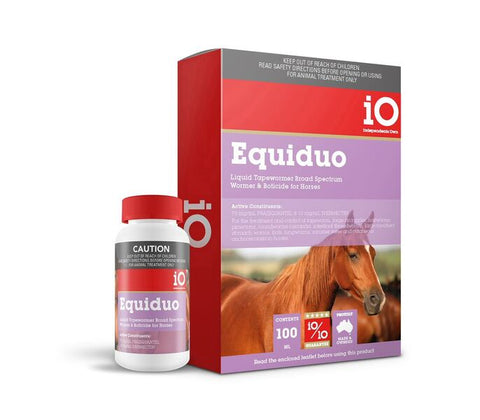 Equiduo Liquid Horse Wormer 100ml