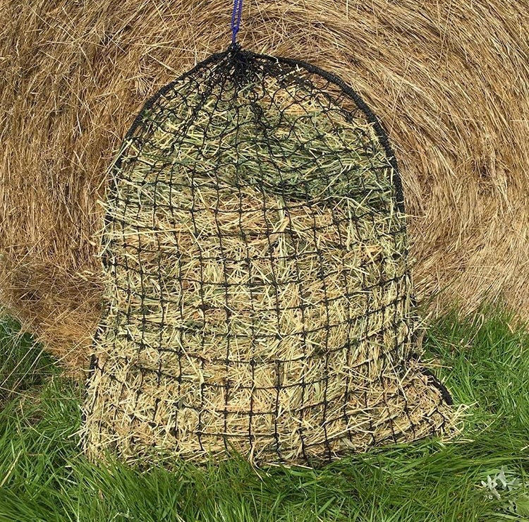 Medium Slow Feeding Hay Net 30mm x 30mm 48 ply