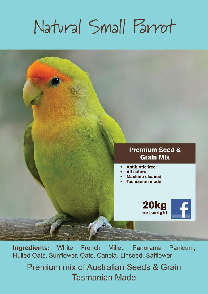 Seedhouse Natural Small Parrot  20kg