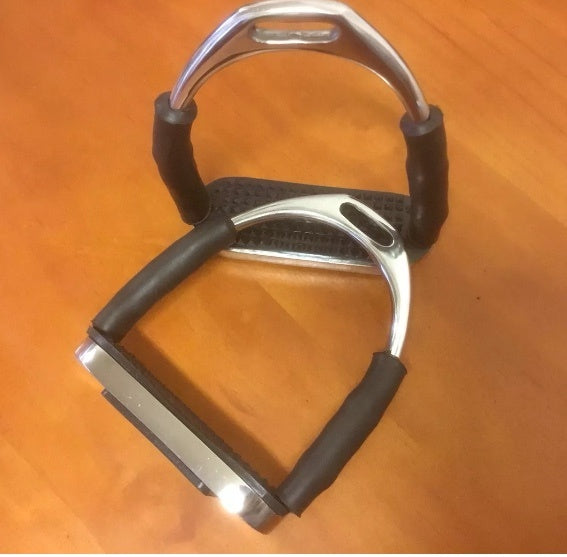 Flexiable Safety Stirrup Irons 4.5""