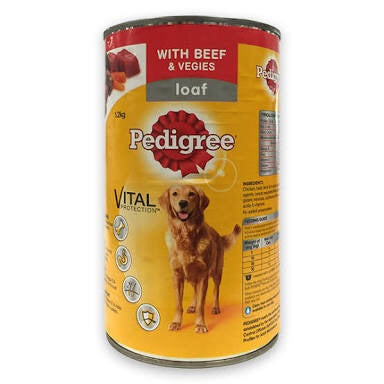 Pedigree 1.2kg  Loaf with 5 Kinds of Meat (12 cans)