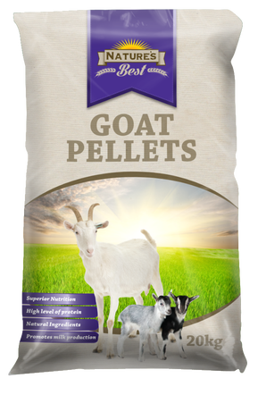 Natures Best Goat Pellets 20Kg