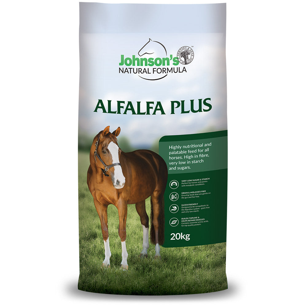 Johnsons Alfalfa Pellets 20Kg