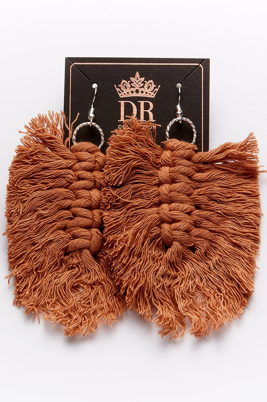 'Cabo' Macrame Earrings