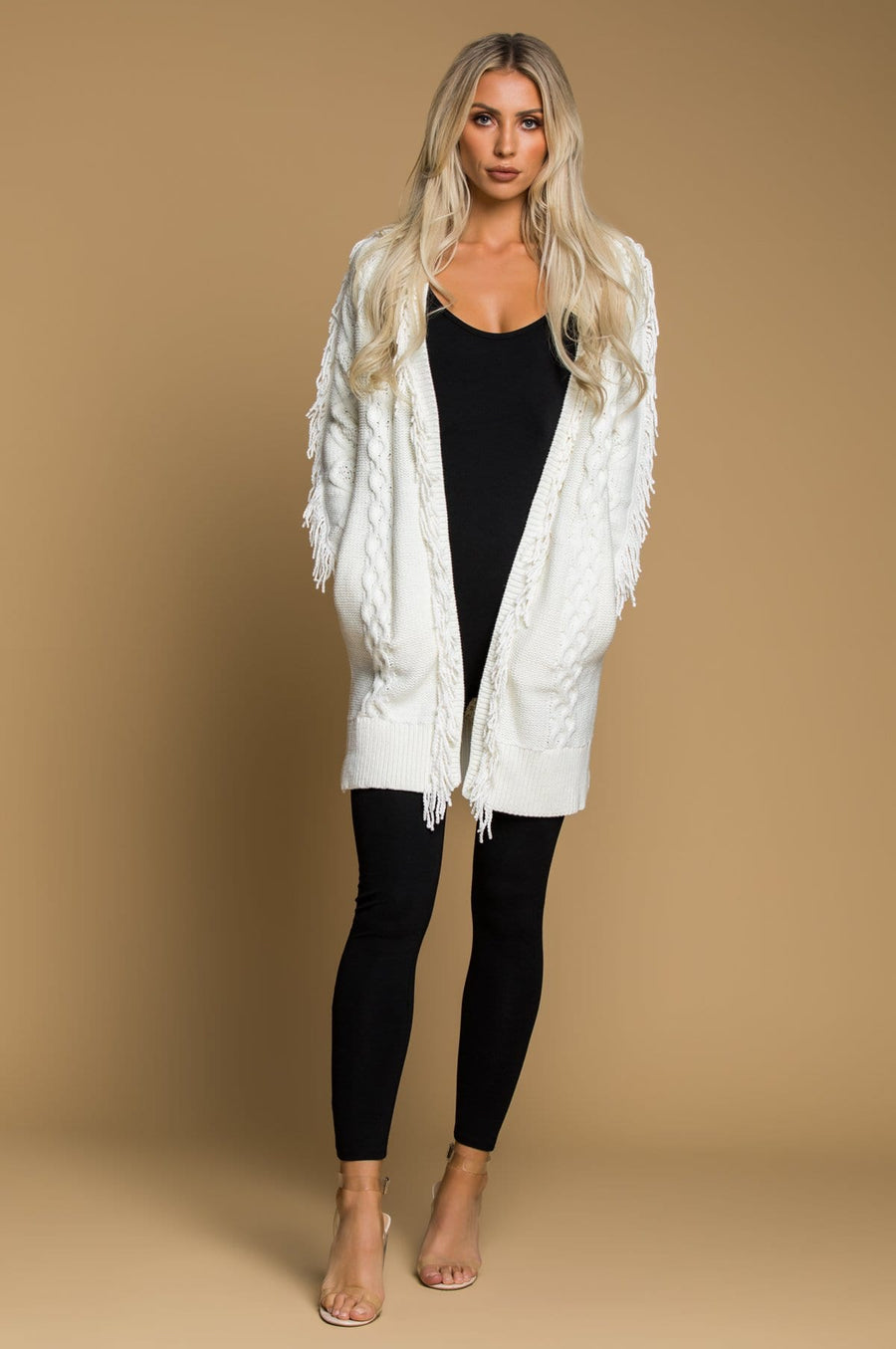 'Carolina' Fringe Cardigan
