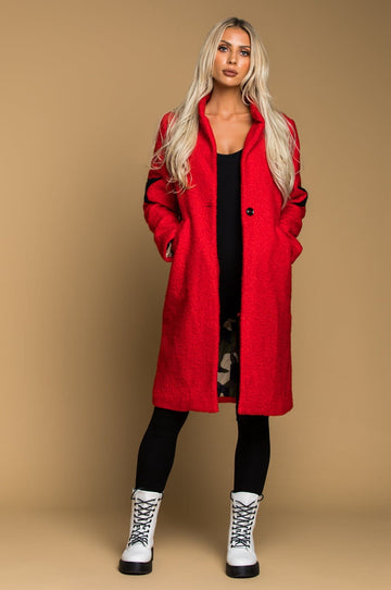 'Ryleigh' Teddy Bear Trench Coat