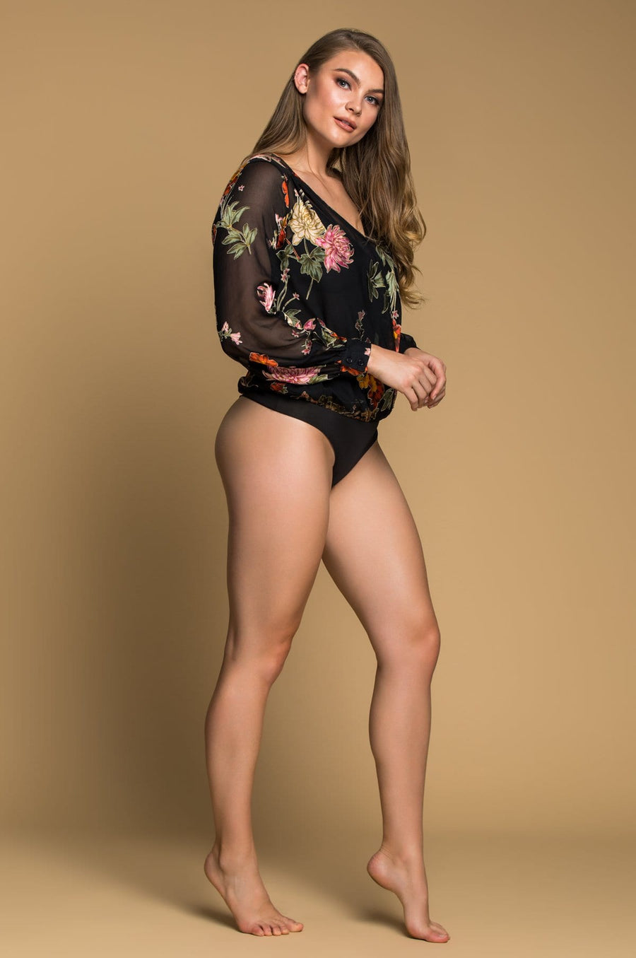 'Sherrie' Floral Body Suit