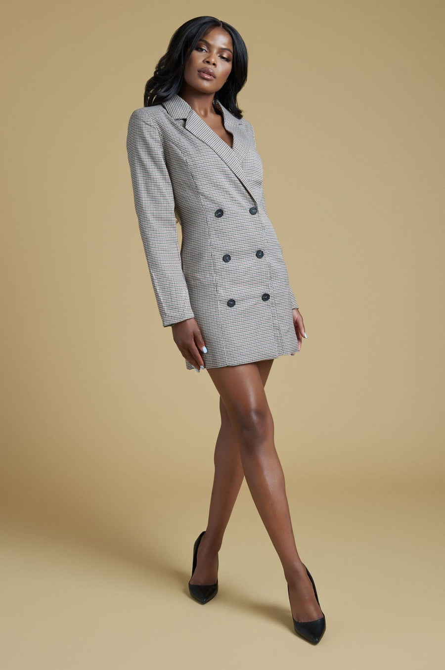 'Artesia' Double Breasted Blazer Dress