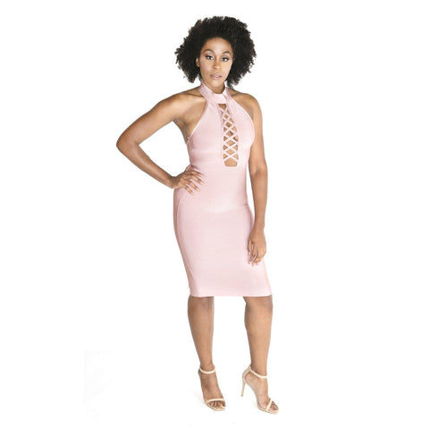 'Valentina' Buster Midi Dress