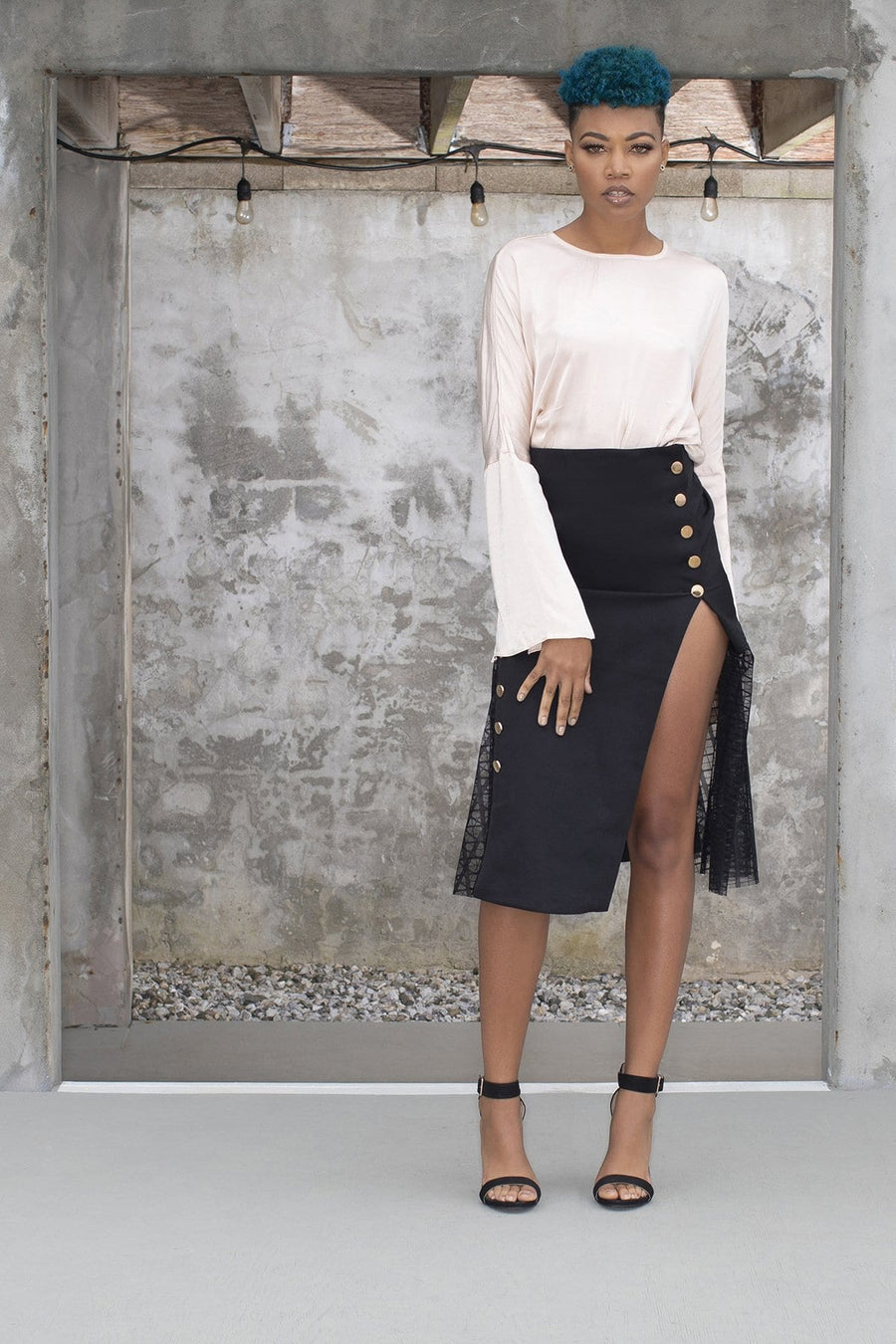 'Coretta' Pencil Skirt