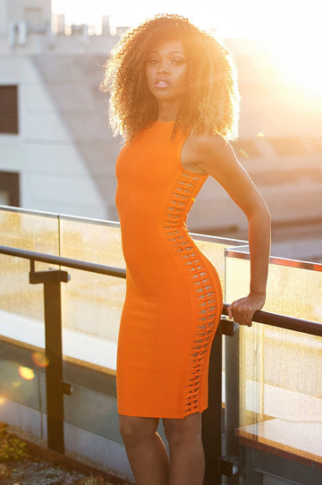 'Azaelia' Bandage Dress