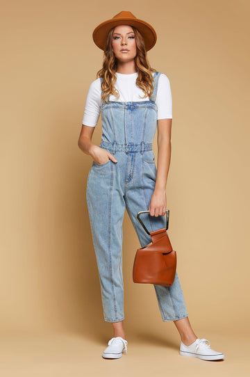 'Moorea' Denim Jumpsuit