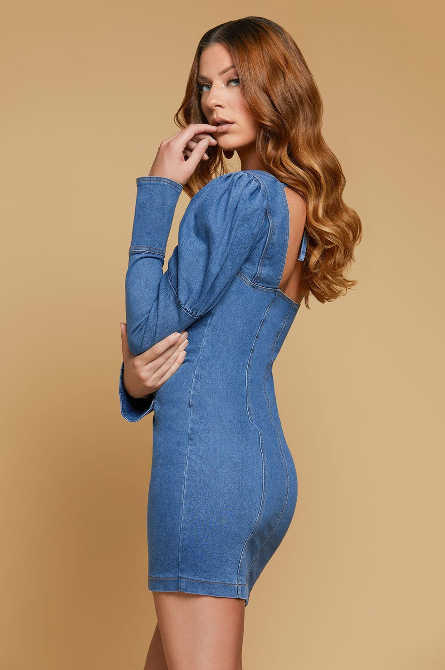 'Mariana' Denim Mini Dress