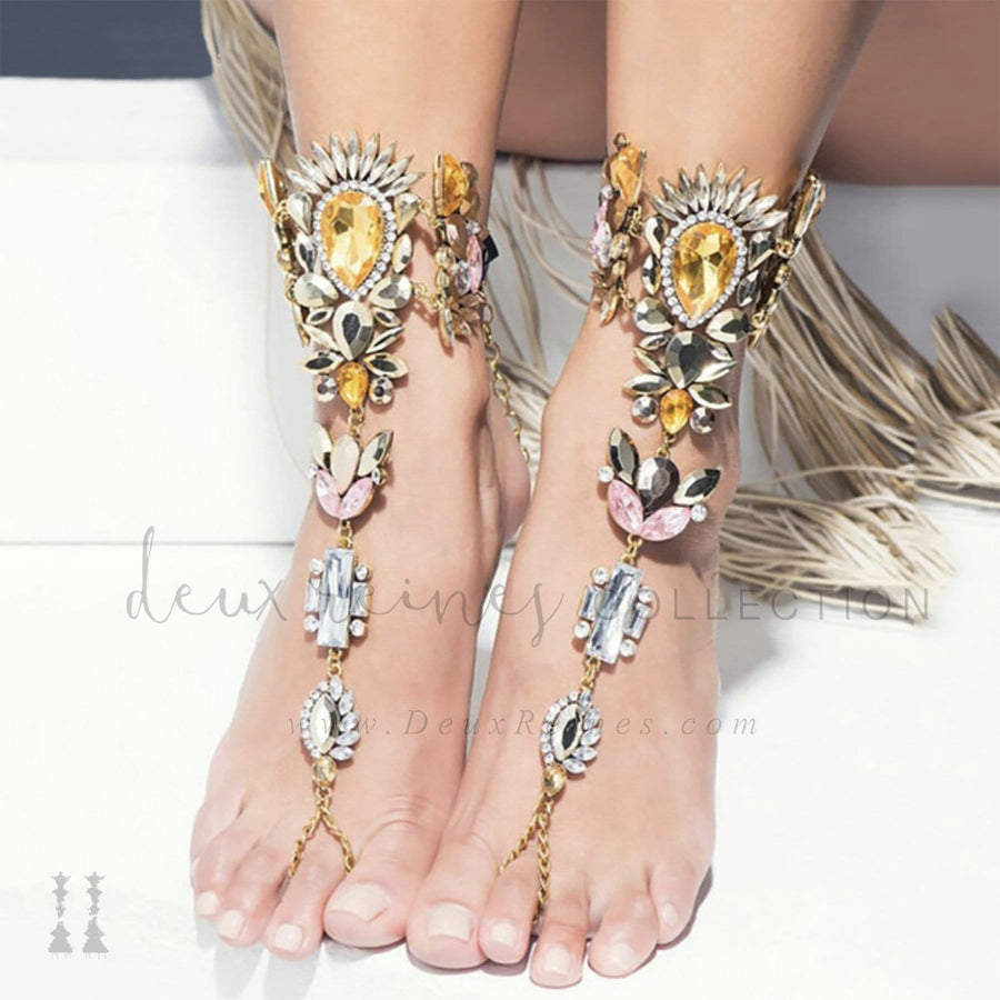 'Liuni' Foot Jewels