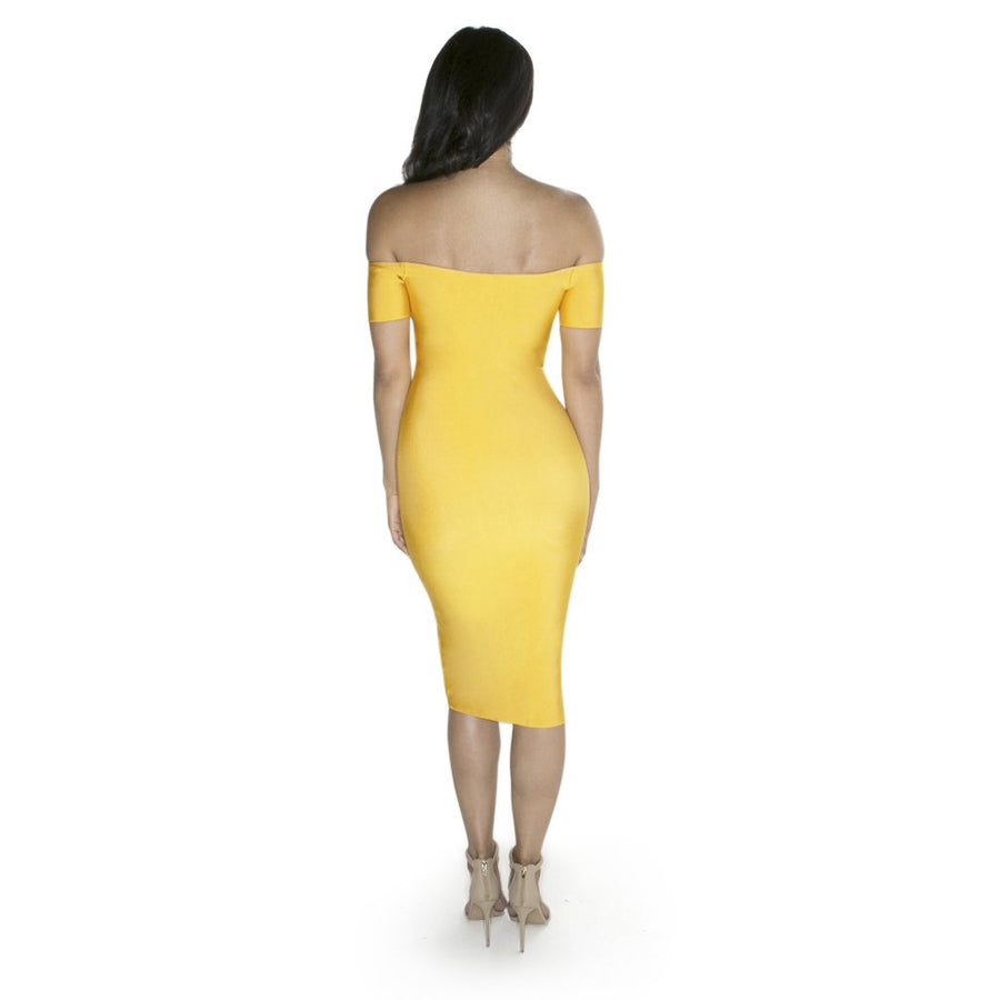 'Selene' Midi Bandage Dress