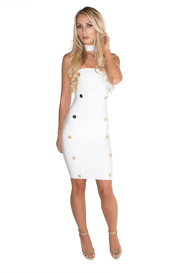 'Jodi' Mini Bandage Dress