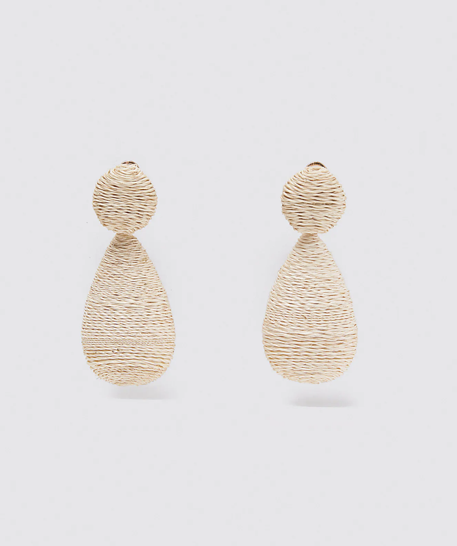 'Selma' Teardrop Earrings