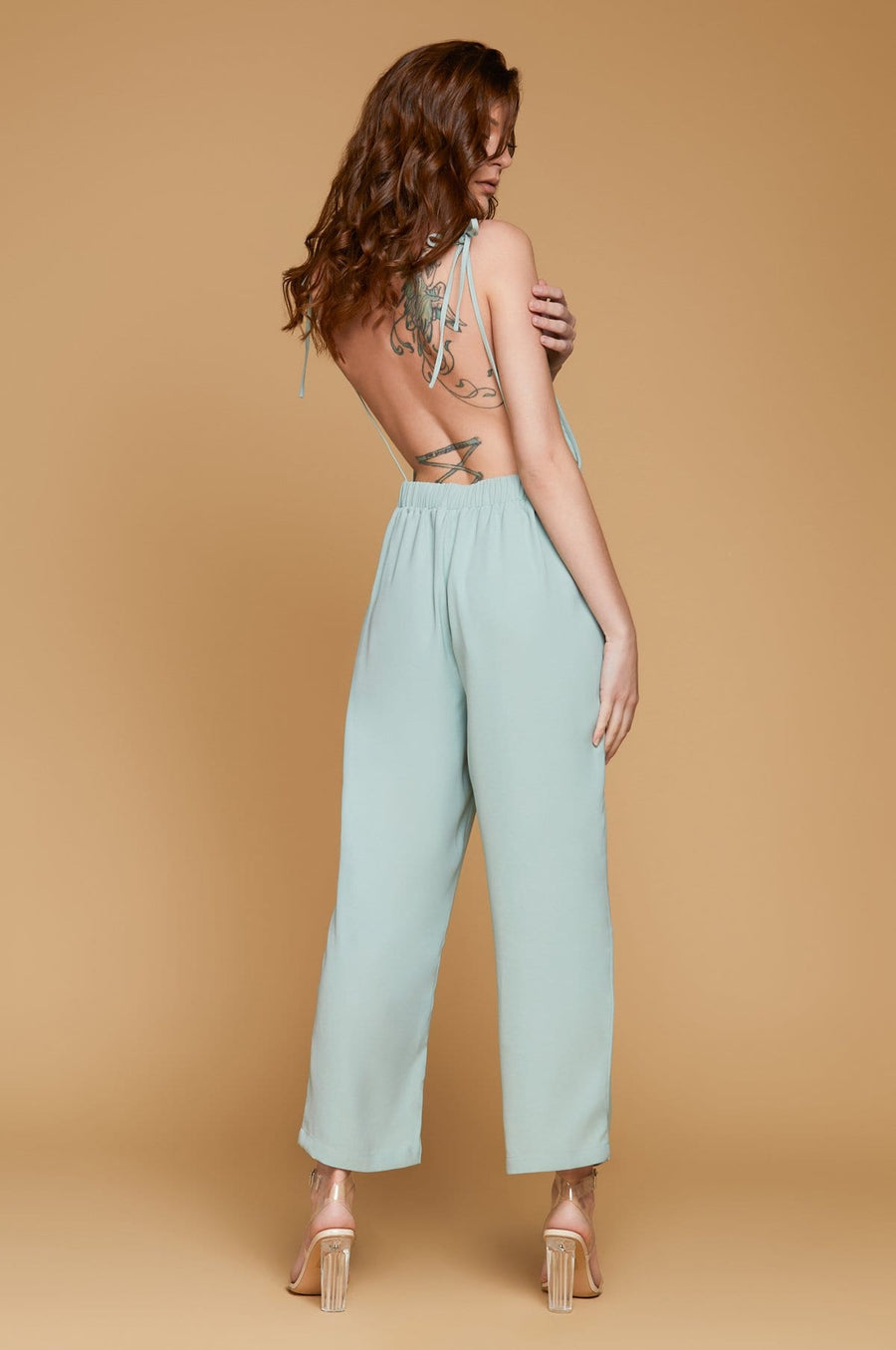 'Lyona'  Backless Jumpsuit