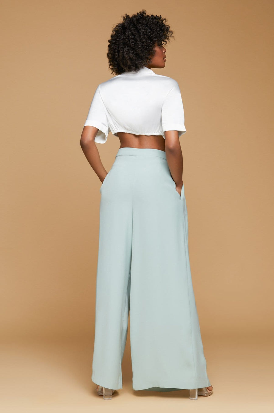 'Carissa' Wide leg Pants