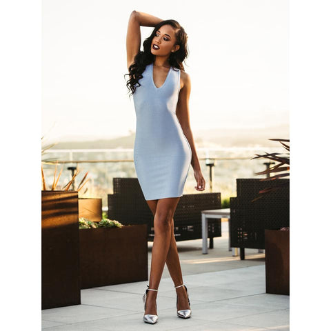 'Lina' Midi Bandage Dress
