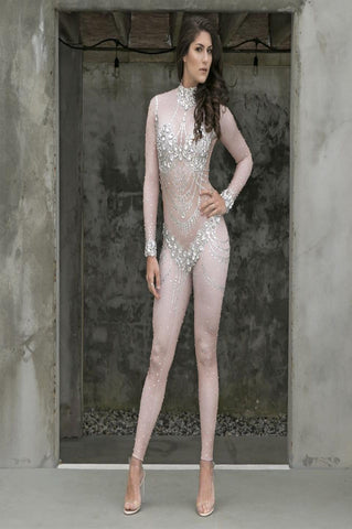 'Monique' Bandage Jumpsuit